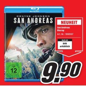 ( Blu-Ray ) San Andreas für 9,90 Euro im Media Markt Aachen und Umgebung