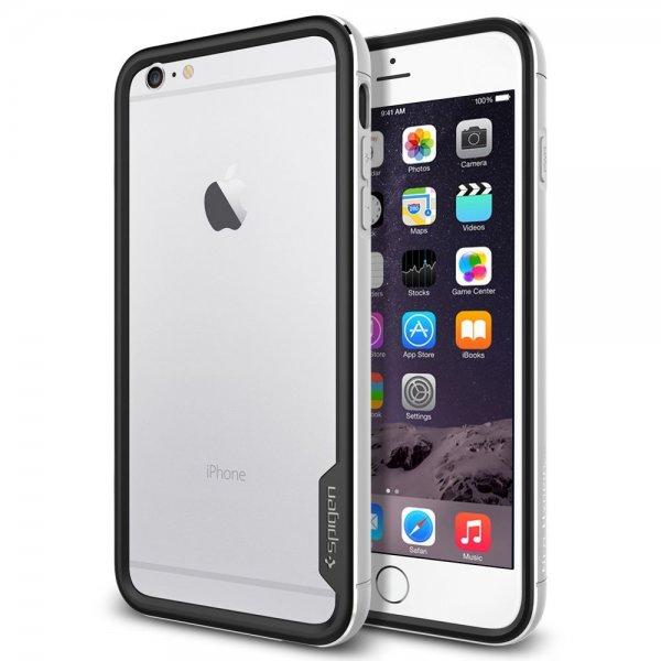 [Amazon] Spigen iPhone 6 Plus Case Neo Hybrid Ex Metal Series Satin Silver für 14,99 € (Normalpreis 29,99 €) plus 0,10 € Versand für die Nicht-Primler via Buchtrick