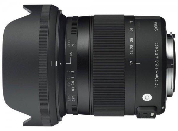 Sigma Contemporary 17-70mm f/2.8-4 DC Macro OS HSM C Objektiv für Canon Objektivbajonett