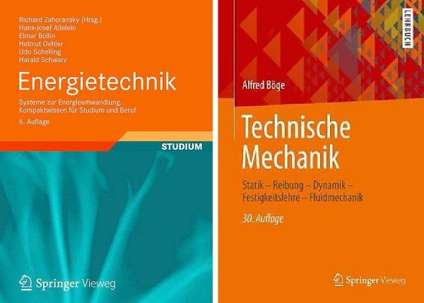 Energietechnik oder Technische Mechanik [Springer-Verlag]