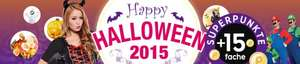 [Rakuten] Happy Halloween mit 15-fachen Superpunkten