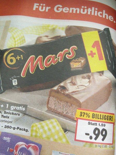 6+1 Mars @ Kaufland nur 99 Cent