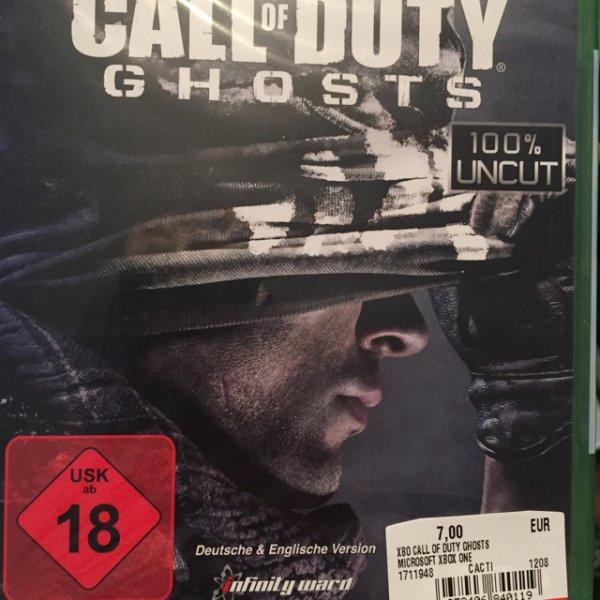 MediaMarkt Dortmund Indupark CoD Ghosts Xbox One