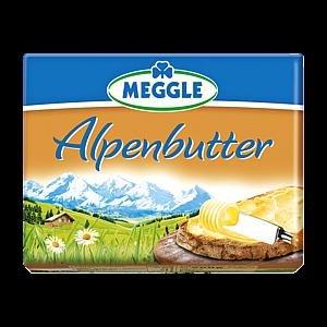 Meggle Alpenbutter oder Alpenzart für 0,99 € ab morgen bei Rewe