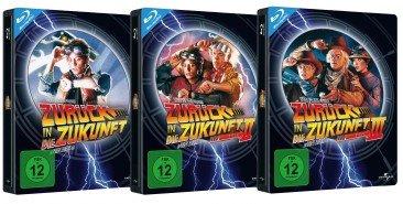 [Media-Dealer] Zurück in die Zukunft 1-3 - 10th Anniversary Limited Steelbook Edition (Blu-ray)
