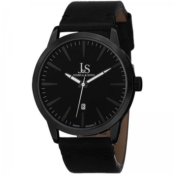 [Groupon] Joshua & Sons Herren-Armbanduhr Modell JS86BK + 2 Weitere