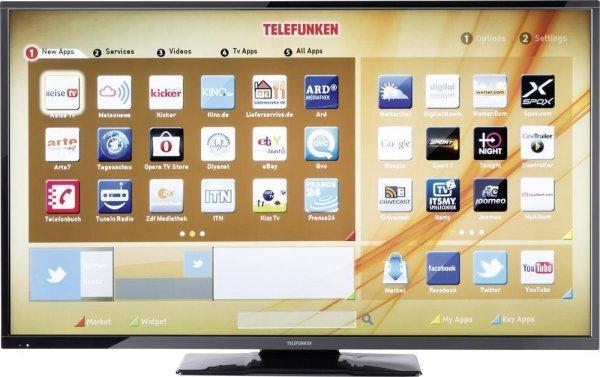 [ebay WOW] LED-Fernseher 124 cm 49 Zoll Telefunken D49F283N3C EEK A+ DVB-T, DVB-C, DVB-S, Full HD