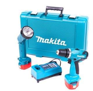 [Notebooksbilliger.de] Makita 6271DWPLE - Akku-Bohrschrauber, 2x 1,3Ah Akku, Lampe, Transportkoffer - 90,99€