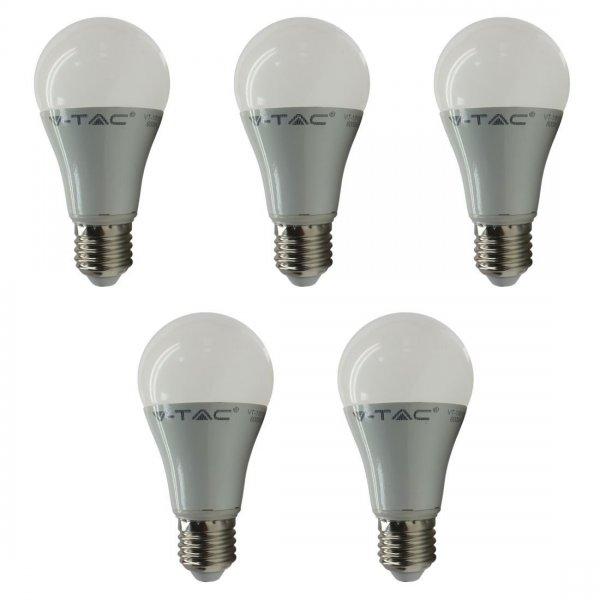 [Amazon Plus Produkt] 5 x V-TAC LED Lampe E27 mit 15 Watt --> 95 Watt --> 1500 Lumen für 4,50 €