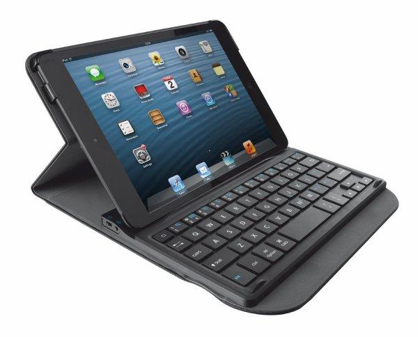 [Amazon.de-Plusprodukt] Trust Schutzhülle mit Bluetooth Tastatur für iPad mini 1/2/3/ schwarz