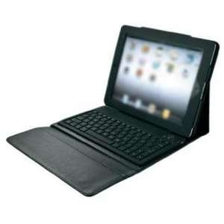 Redcoon.de Trust Folio Stand Bluetooth Keyboard (Tastatur + Schutzhülle für iPad 2, 3 & 4)