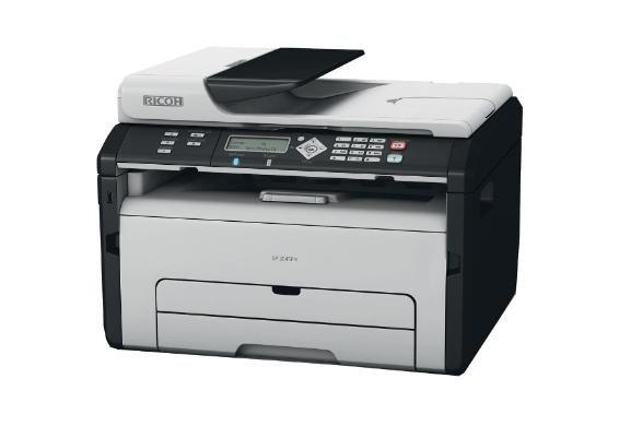 [Dealclub] Ricoh SP 204SFNW S/W-Laserdrucker Scanner Kopierer Fax LAN WLAN für 89,95€ Versandkostenfrei