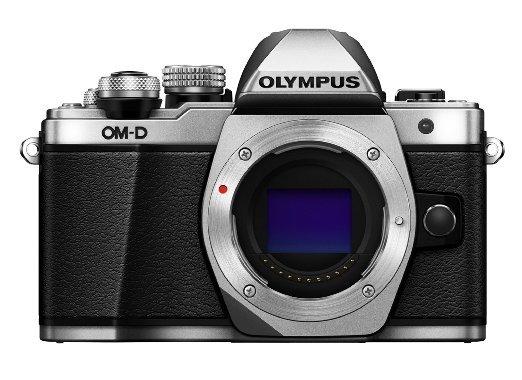 Bei Amazon: Systemkamera Olympus OM-D E-M10 Mark II silber plus 50 Euro Gutschein