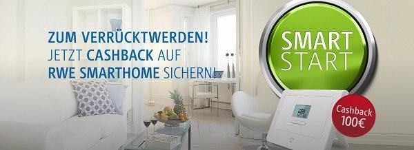 RWE SmartHome: 100€ Cashback beim Kauf von SmartHome Zentrale + mind. 2 Geräte