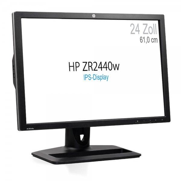 """HP ZR2440W 24"""" IPS Monitor 1920x1200 (mit Pivot Funktion)"""