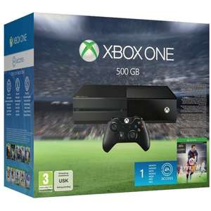 Xbox One 500 GB Incl Fifa 16 + 15 Fache Superpunkte 50,70 €