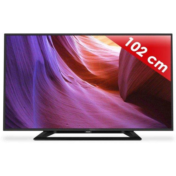 "Philips 40PFH4100 - 102 cm ( 40"" ) - 4000 Series LED-TV - 1080p (FullHD), für 353 statt 396€ @PIXMANIA"