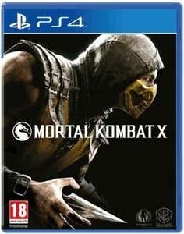 [Rakuten /Base] Mortal Kombat X (PS4) Uncut UK Version inc. T-Shirt für 29,84€. Kreditkarte Notwendig