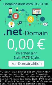 .net-Domain 1 Jahr gratis bei Checkdomain