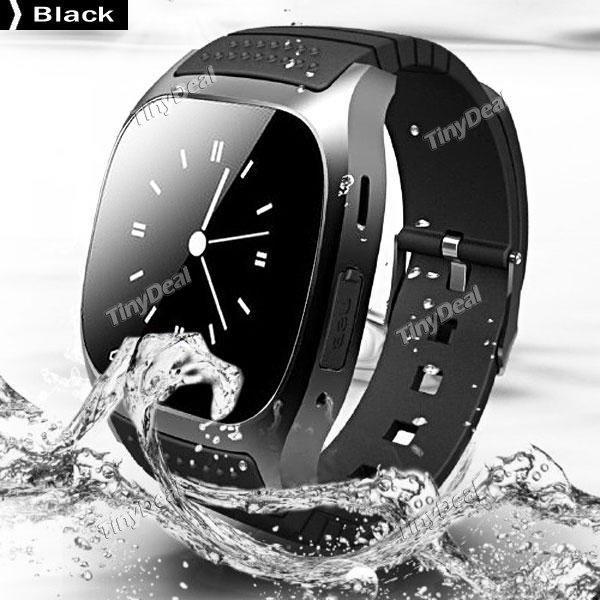 (tinydeal) Günstigster Preis! FASHION Smartwatch R-Watch M26 verschiedene Farben für Android & iPhone oder EU VERSAND 21,10 Euro mit Versand