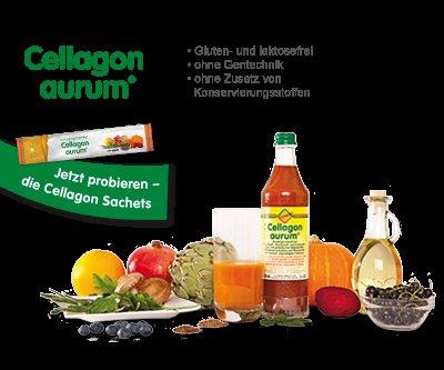 Gratisprobe Cellagon Saft