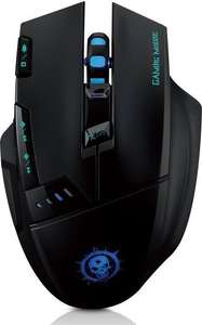 Dragons Wireless Gaming Maus 4000 DPI mit 500 Hz Return-Rate für Pro Gamer