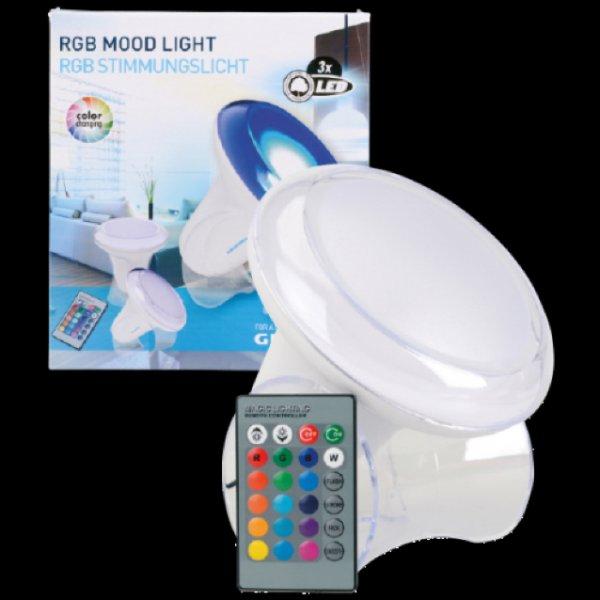 [Action] LED Stimmungsleuchte mit Farbwechsel von Grundig