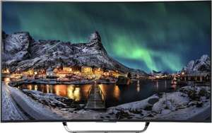 [Amazon] Sony KD65S8005CBAEP 163,9cm (65 Zoll) Curved Fernseher (4K Ultra HD, Triple Tuner, 3D, Android TV)