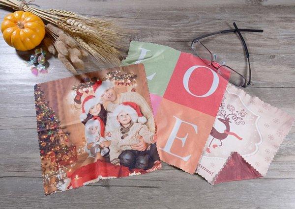 Neuer Deal von ArtsCow.com - Brillenputztuch mit eigenem Foto 90 Cent