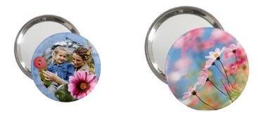 Taschenspiegel mit eigenem Foto / Design (Versand inkl.)