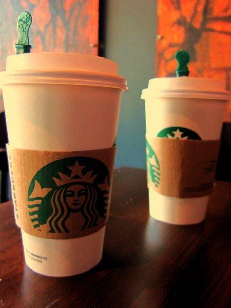 [joy Zeitschrift] Starbucks Getränke-Gutschein 2 für 1