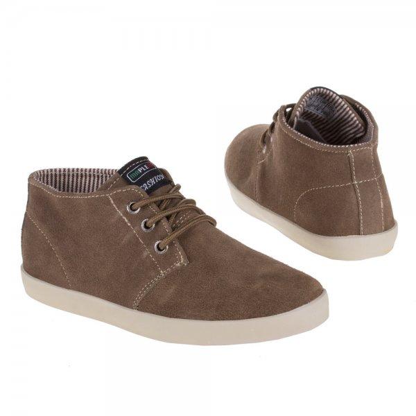 Ital-Design: Herren Sneakers aus Wildleder in verschiedenen Farben im Sale