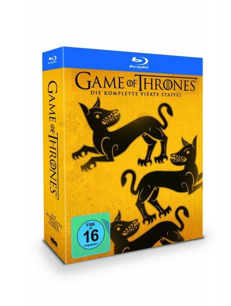 Game of Thrones - Staffel 4 (Digipack + Bonusdisc) (exklusiv bei Amazon.de) [Blu-ray] [Limited Edition] für 32,97€