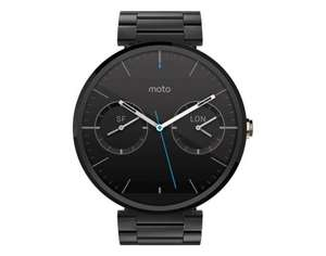 [Allyouneed] Motorola Moto 360, Smartwatch, 4GB interner Speicher, Corning Gorilla Glass 3, Dark/Light Metallic