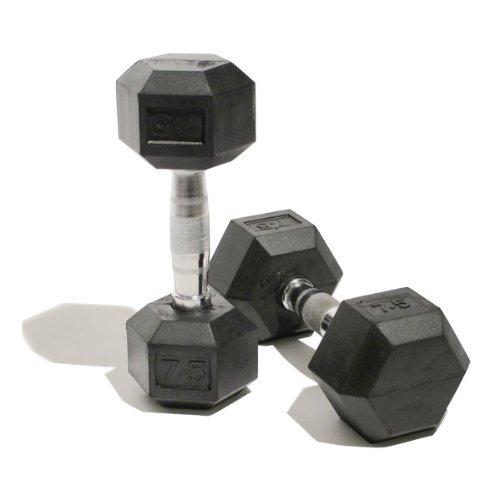 [AMAZON] Bodymax Gummierte Hex Kurzhanteln Gesamtgewicht / Set mit  150 Kg