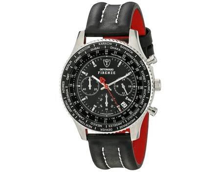 DeTomaso Firenze SL1624C-BK, Herrenchronograph, Wasserdicht für 59,00€
