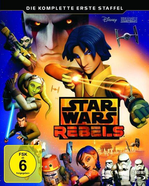 (Prime) Star Wars Rebels - Die komplette erste Staffel Blu-ray für 23,99 €