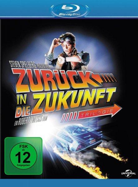 Zurück in die Zukunft Trilogie auf Blu-ray für nur 17,99€ inkl. Versand