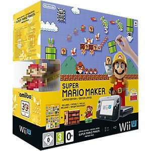 Wii U Premium 32GB mit Mario Kart 8 260,10€ oder mit Super Mario Maker 269,10€