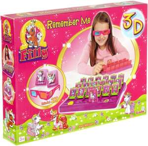 Simba Toys 105950259 - Filly 3D Erinnere Dich Spiel (Amazon Plus Produkt/MBW 29€)