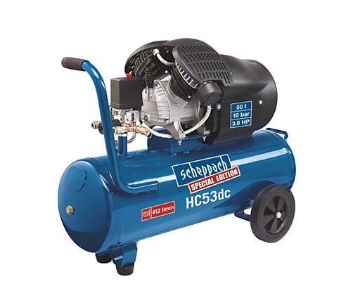 Kompressor - Scheppach HC53dc 215,96€ oder Güde 400/10/50 N 216,16€ bei PLUS Online