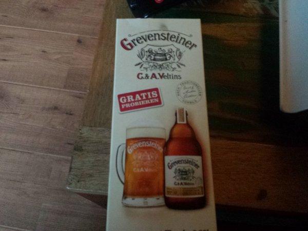 1 Flasche Grevensteiner Bier/Hol ab Posthausen