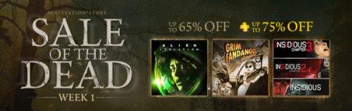 [PSN CA/US] Sale of the Dead Week 1 z.B Grim Fandango 6,09€, DmC 16,24€ usw