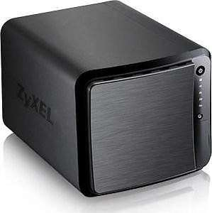 ZyXEL NAS540 (4-Bay, 2x GB Ethernet, 3x USB 3.0, Quiet FAN) für 124,90€ - Gutes los budget NAS - 9,30€ Payback möglich