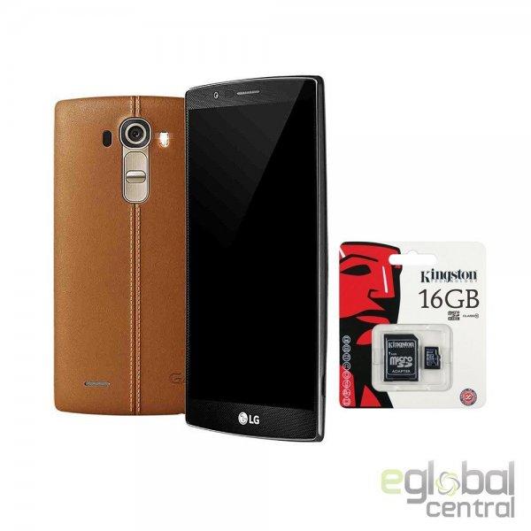 LG G4 32 GB Leder braun für 385,00 € @ebay