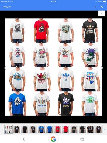 Adidas T-Shirts in vielen Farben / Größen eBay Wow für 11,89 Euro mit Paypal inkl. Versand