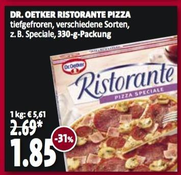 lokal [Kaisers|Tegelmann] - Dr. OETKER Ristorante