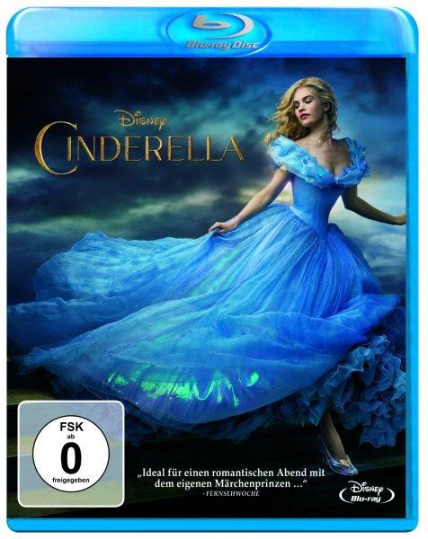 [Amazon.de] Cinderella (Realverfilmung) [Blu-ray] für 11,97 Euro, Rabatt von 20%