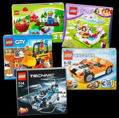 Verschiedene Lego Sets ab heute bei Penny für 7,99 €