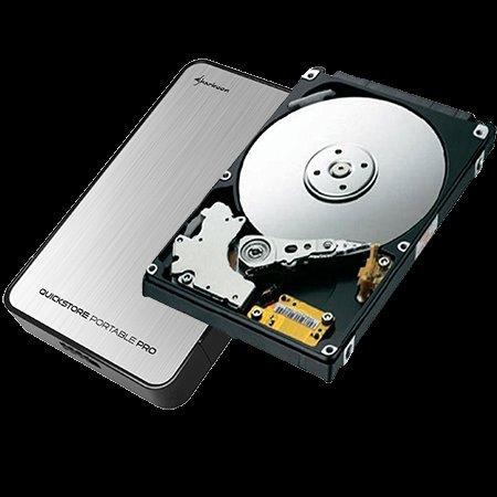 [ZackZack] Bundle: Sharkoon QuickStore Portable Pro USB3.0 + 500GB HDD